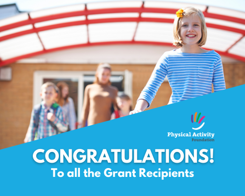 Congratulations grants website